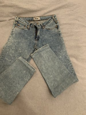 Acne Low Rise Jeans azure