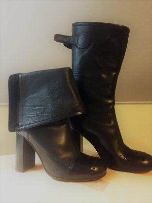 Acne High Boots black leather