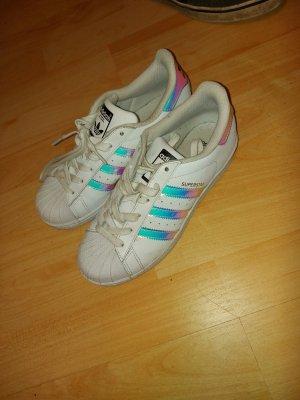 Adidas NEO Sznurowane trampki biały