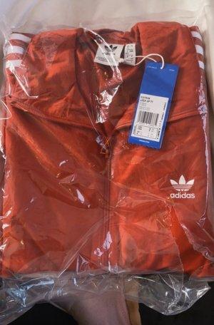 Adidas Jack met capuchon rood