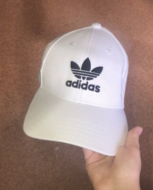 Adidas Baseball Cap white-black