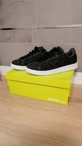 original Adidas neo Sneaker schwarz 36.5