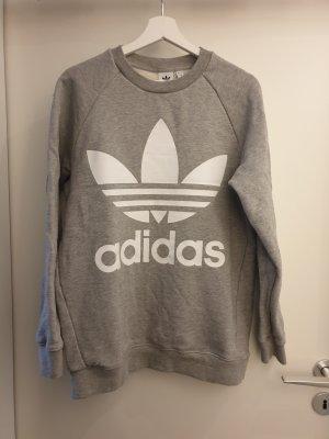 Adidas Originals Pull oversize gris clair