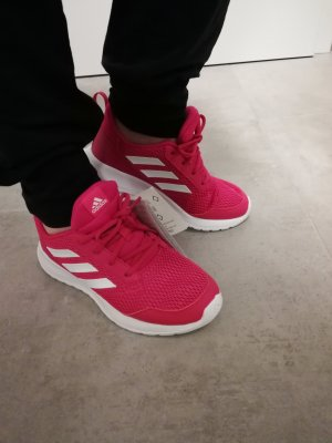 original Adidas Retro Sneaker pink-weiß 37.5