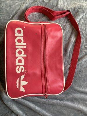 Adidas Originals Borsa a tracolla rosso lampone
