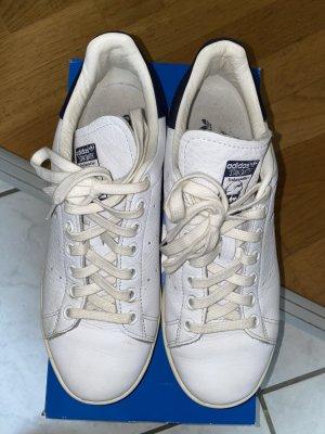 Original Adidas Stan Smith weiß/blau Gr. 40 2/3
