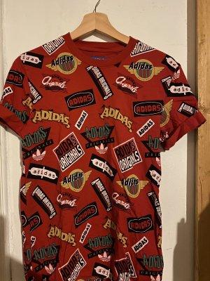 Adidas T-shirt rosso
