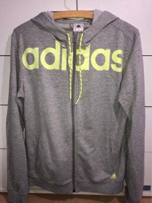 Adidas Veste chemise gris clair