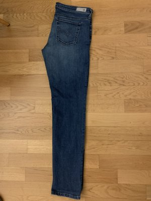 Adriano Goldschmied Jeans coupe-droite bleu