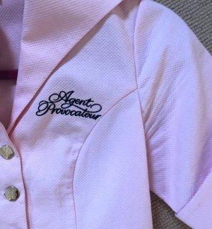 Original Agent Provocateur Uniform Kleid Mantel rosé rosa L 40