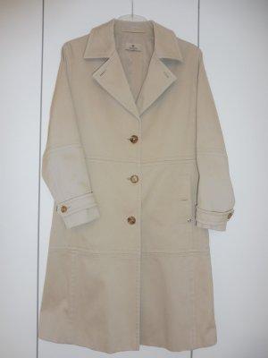 Aigner Between-Seasons-Coat beige cotton