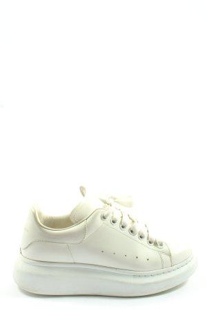 Original! Alexander McQueen Original Schuhe weiß Larry Casual-Look