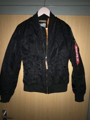 Alpha Industries Chaqueta bomber negro