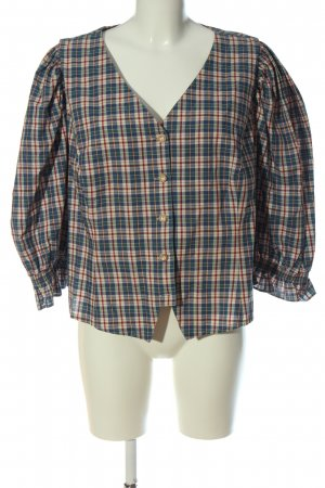 original ALPHORN Traditional Blouse check pattern casual look