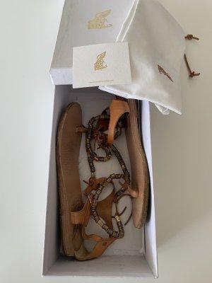 Ancient greek sandals Sandalias romanas multicolor