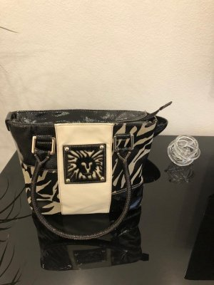 Anne Klein Carry Bag black-natural white