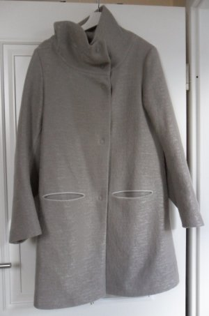Annette Görtz Short Coat grey-grey brown wool