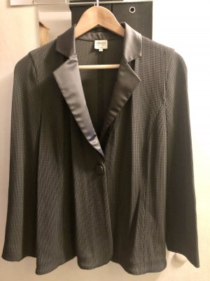 Emporio Armani Knitted Blazer dark grey
