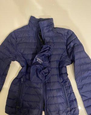 Armani Jeans Doudoune bleu polyamide