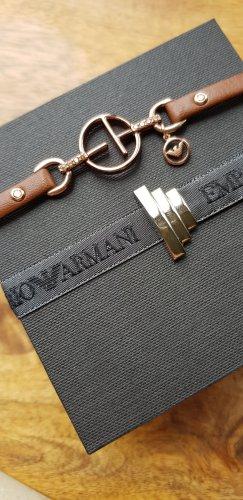 original Armani Lederarmband