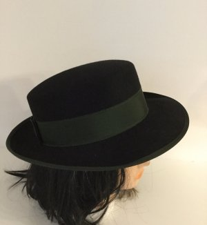 Traditional Hat black-forest green