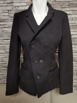 Original Balenciaga Paris Blazer Jacke Jacket Gr 34 ital 40 schwarz