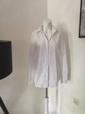 Balenciaga Short Sleeved Blouse white