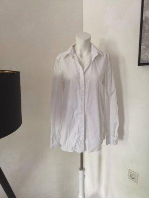 Balenciaga Camicia a maniche lunghe bianco Cotone