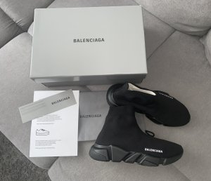 Balenciaga Basket slip-on noir