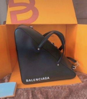 Balenciaga Shopper black-white