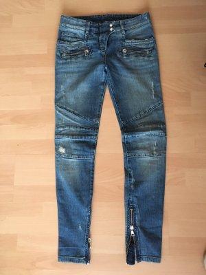 Original Balmain Jeans 36FR blau