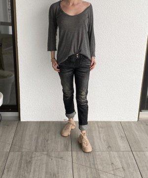 Balmain Jeans da motociclista nero