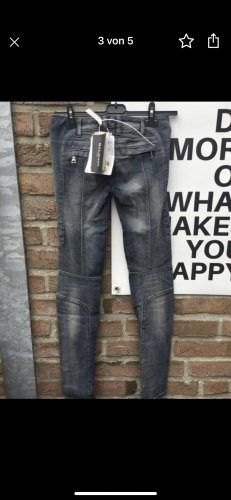 Pierre Balmain Biker Jeans multicolored