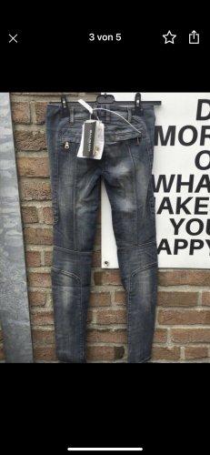 Original Balmain Paris Biker Jeans Größe 34 NEU mit Etiketten
