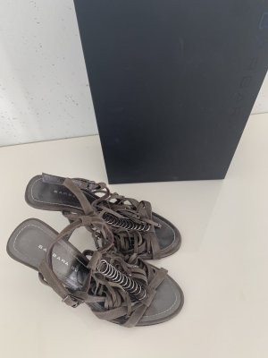 Barbara Bui High Heel Sandal grey brown