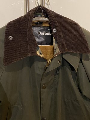 Original Barbour-Jacke