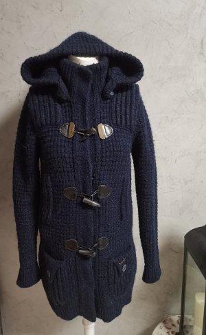 Bark Cappotto in lana blu scuro Lana
