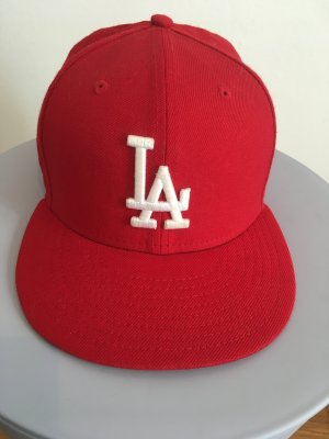 New Era Baseball Cap red-brick red