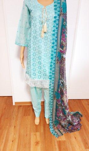 Summer Dress lilac-light blue