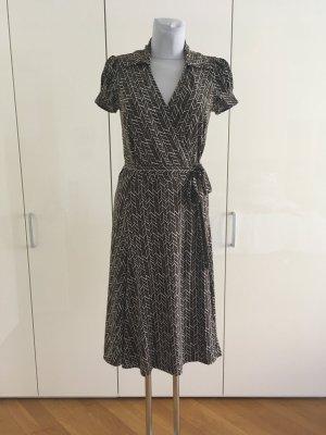 BCBGMAXAZRIA Kopertowa sukienka Wielokolorowy Poliester