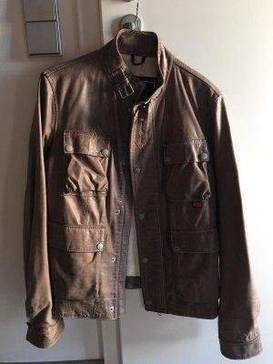 Belstaff Biker Jacket grey brown