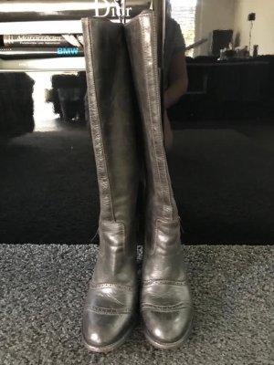 Belstaff Heel Boots anthracite