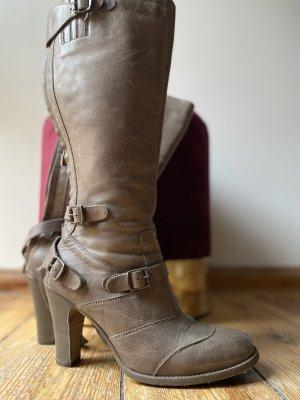 Belstaff Heel Boots grey brown