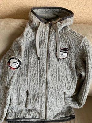 Bergans of Norway Hoody light grey wool