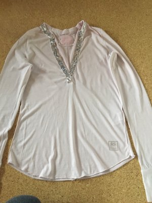 Better Rich V-Neck Shirt light pink