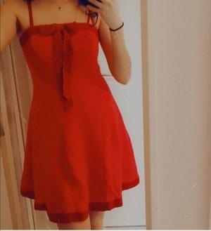 Original Blumarine Kleid Gr 36-38 S rot Samt