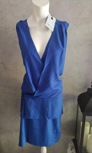 Blumarine Blouse Dress blue mixture fibre