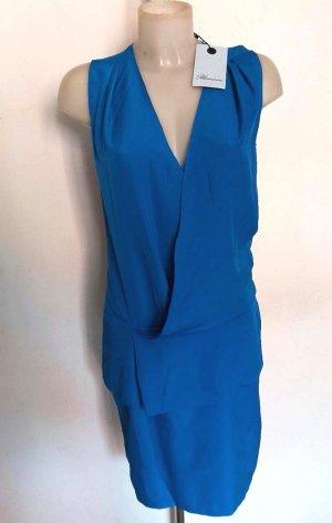 Original Blumarine Kleid Royal blau Gr 36 Ital 42 Neu mit Etikett
