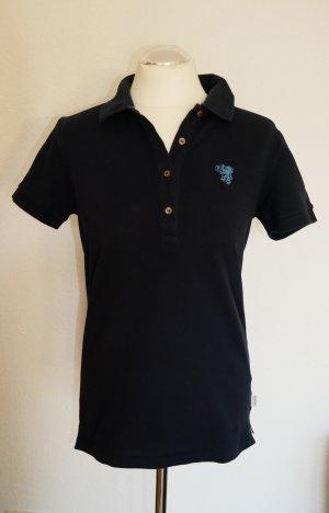 Original Bogner Fire & Ice Poloshirt Polo-Shirt T-Shirt dunkelblau blau Luxus Gr.38/S/M Designer