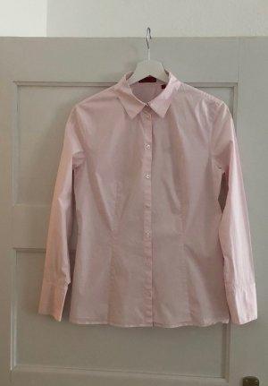 Original Boss Bluse rosa Gr 42, klassische Hemdbluse